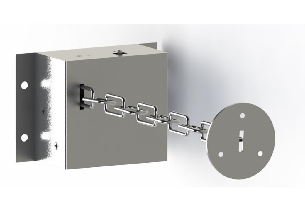 HY6763常开防火门定位与解锁装置-1