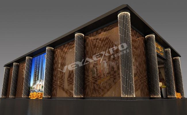 海亮房产展台设计1