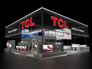 TCL展臺設計搭建