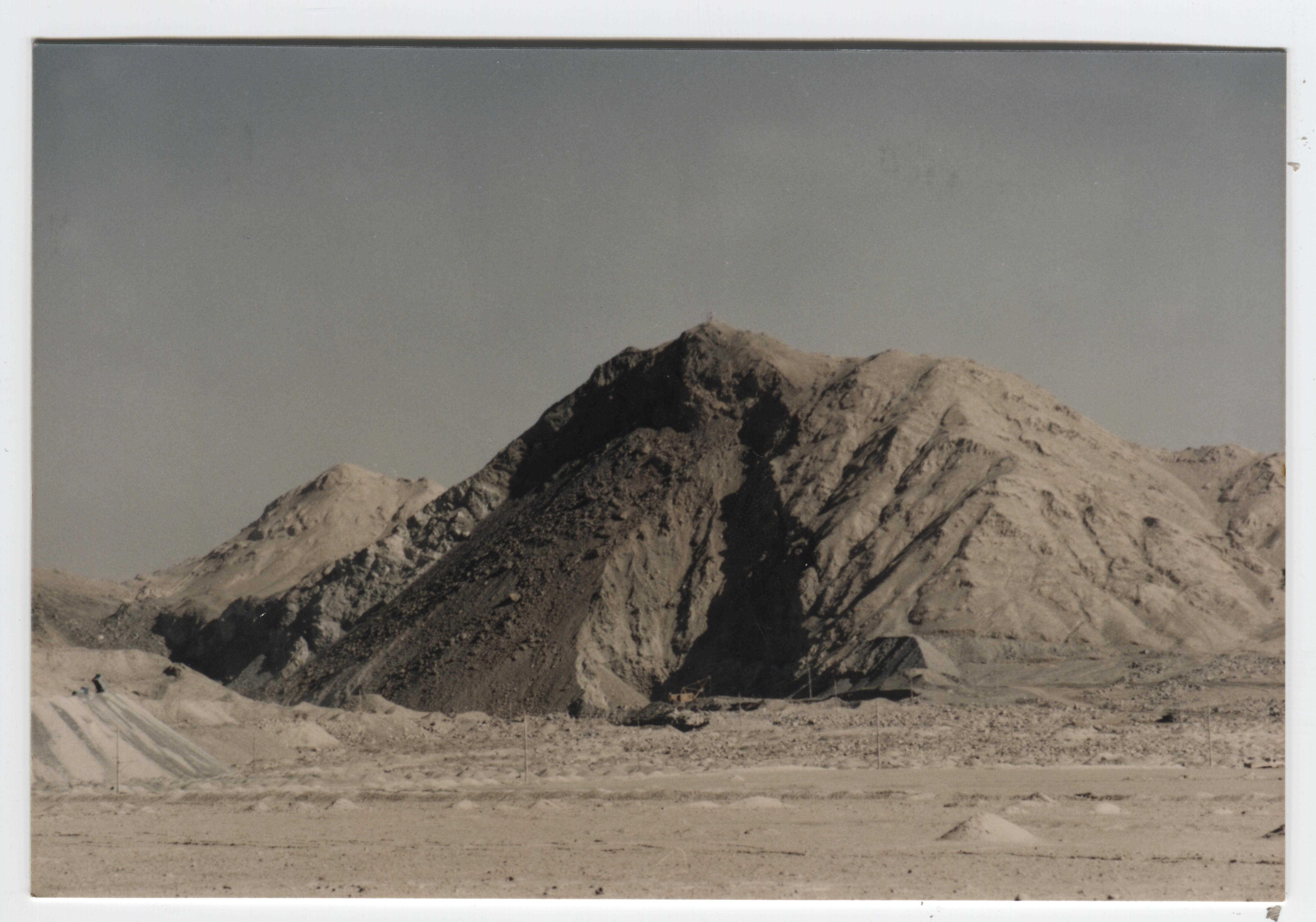 歷史照片(礦山開采)—礦山大爆破(架子山,東山采場)