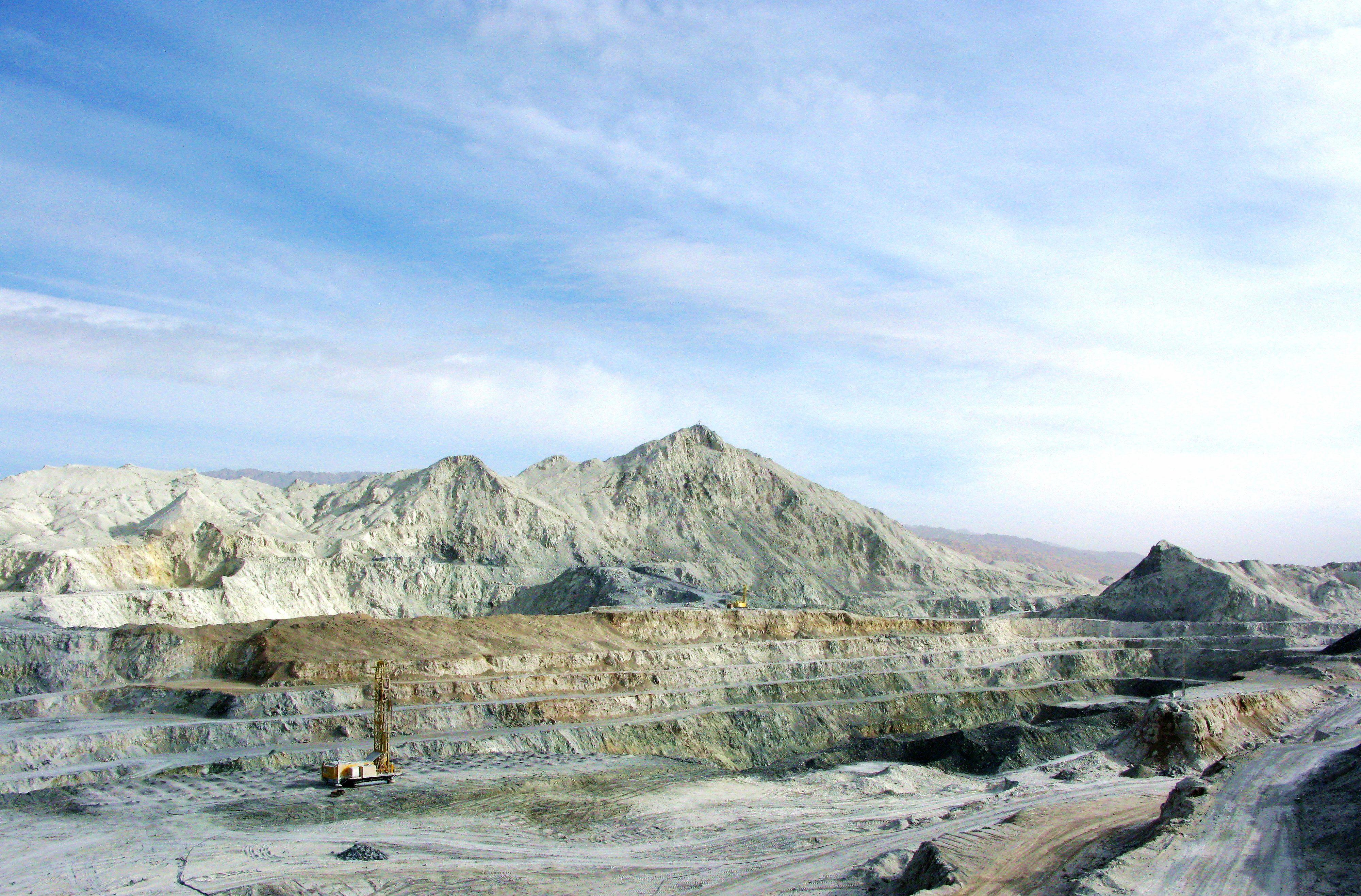 20.2009年的礦山采場