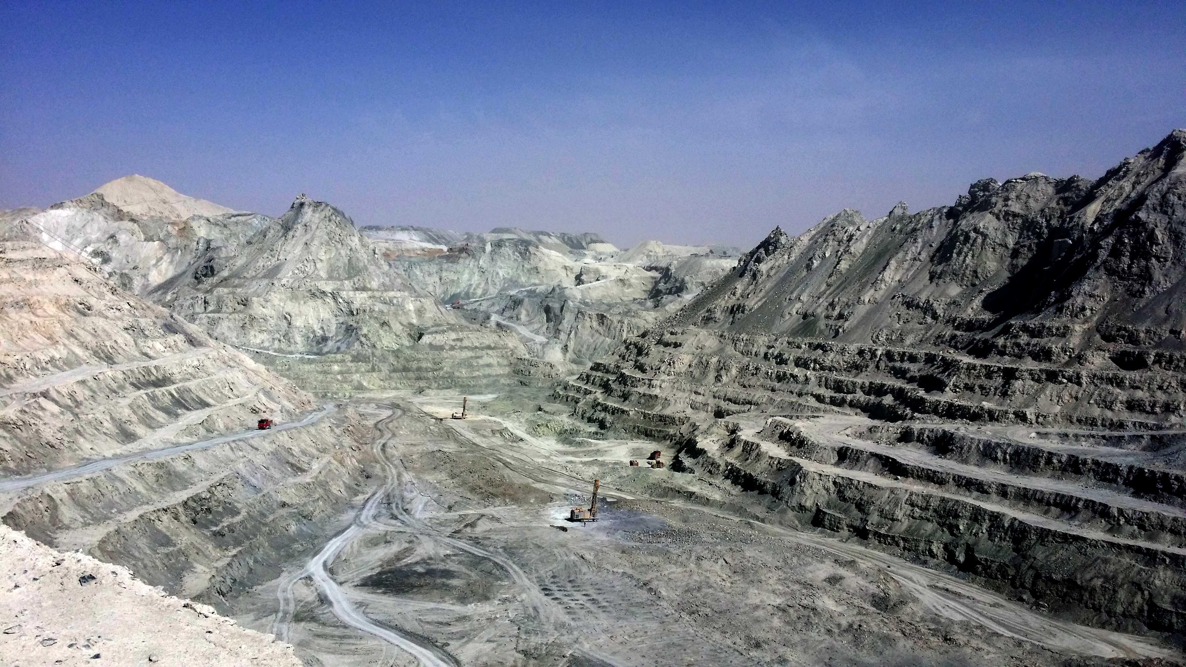 22.2015年的礦山采場