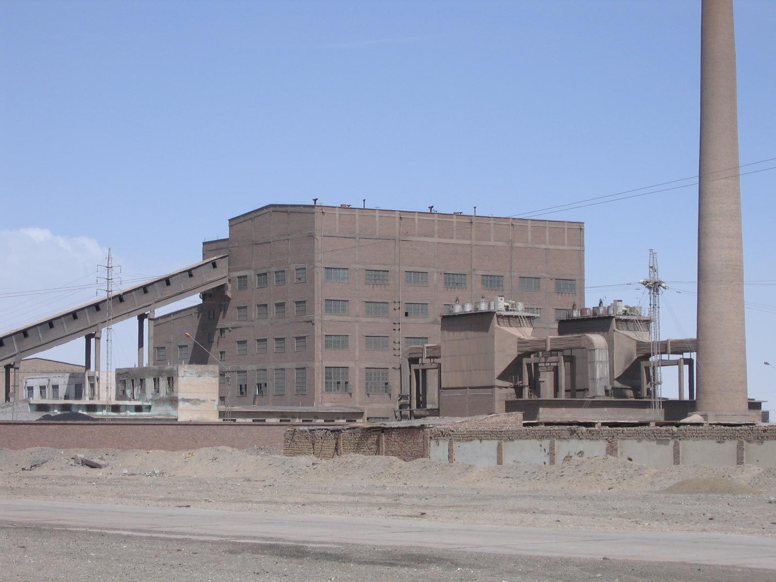歷史照片(電力發展)—生活區火電廠2