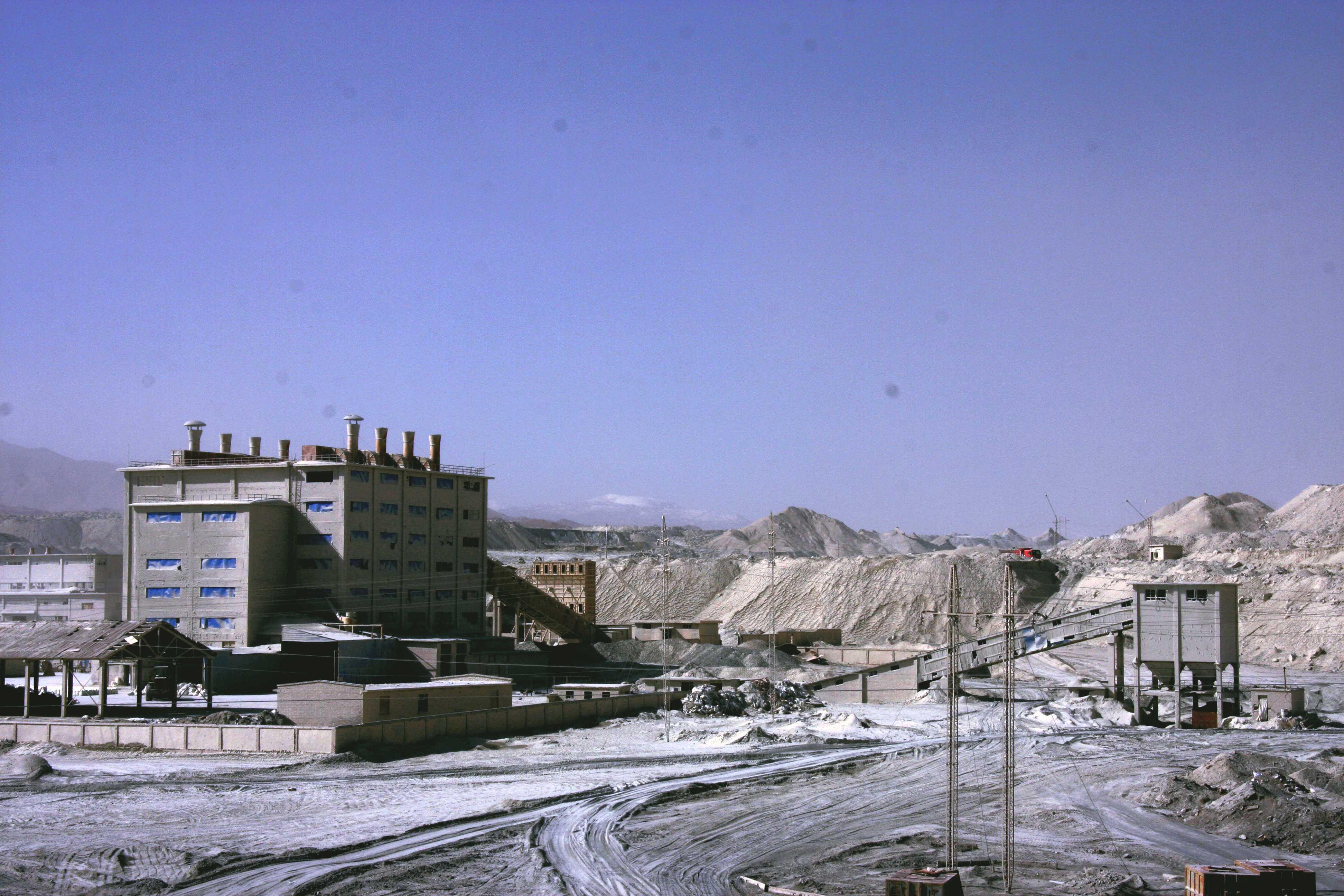 歷史照片(選礦生產)—年產1.2萬噸選礦廠2