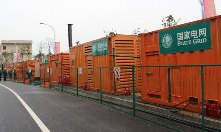 為南陽市第七屆全國農民運動會開閉幕式3MW供電保障服務