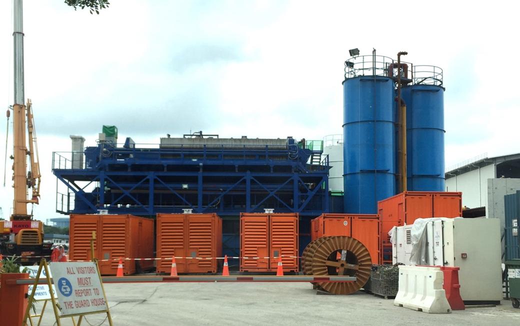 為TBM-SP隧道工程提供3MW電力保障服務