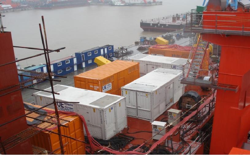 为红盒Pugnax重型运输甲板船提供24MVA负载测试服务