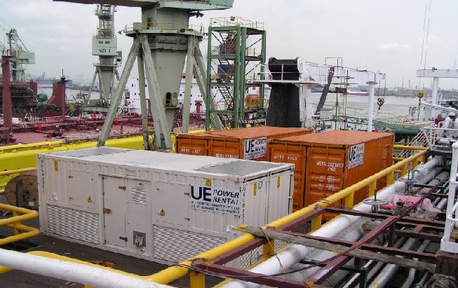 为吉宝南通船厂,5000吨浮吊起重船项目提供18MW负载测试服务