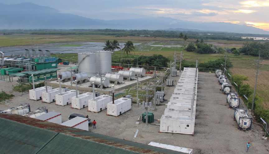 为菲律宾卡拉潘NGCP变电站提供21MW负载测试及临时电力服务
