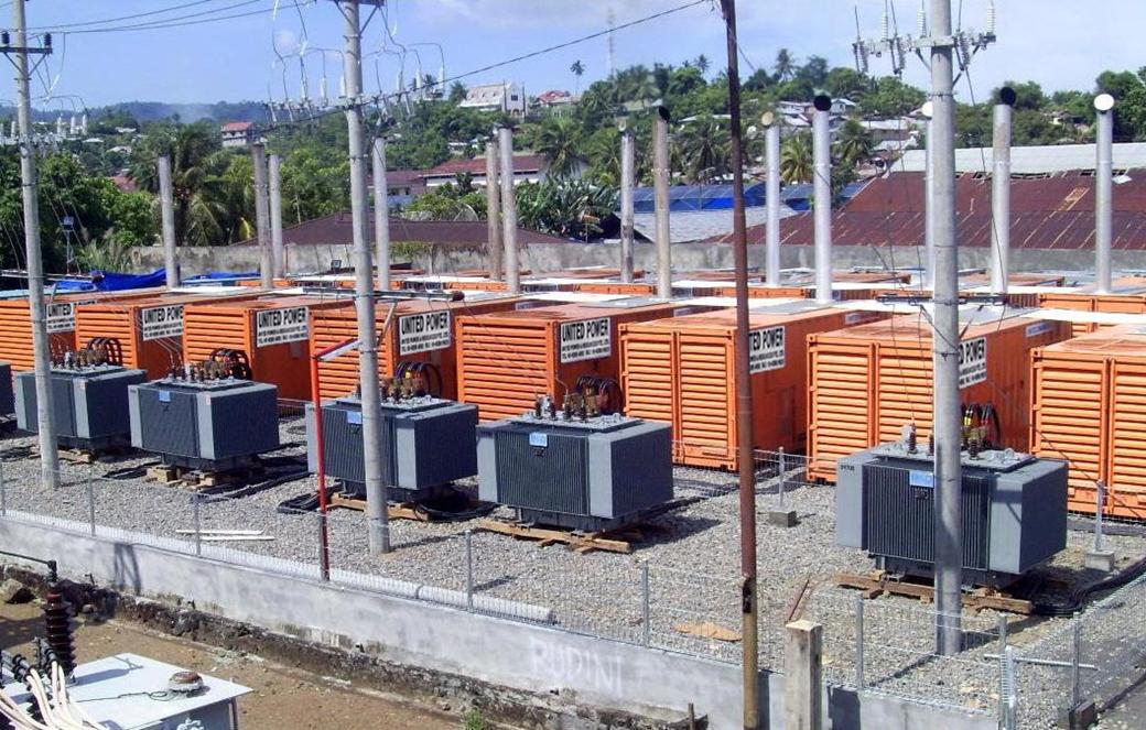為印度尼西亞蘇拉威西島PLN變電站提供15MW臨時供電服務