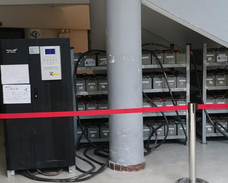 為武漢市第六中學高考考點提供1KV UPS供電保障服務