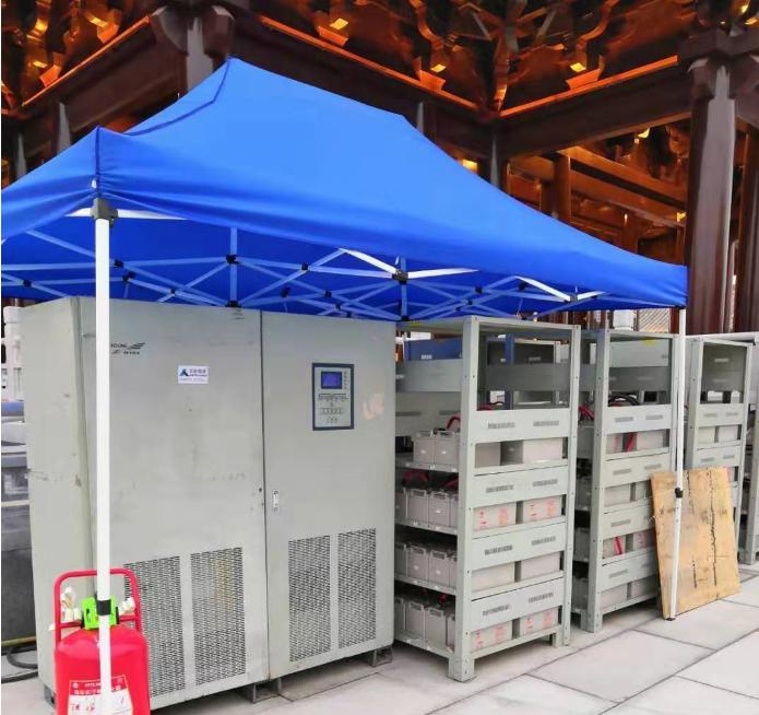 成都中日韓峰會主會場提供5KV UPS供電保障服務
