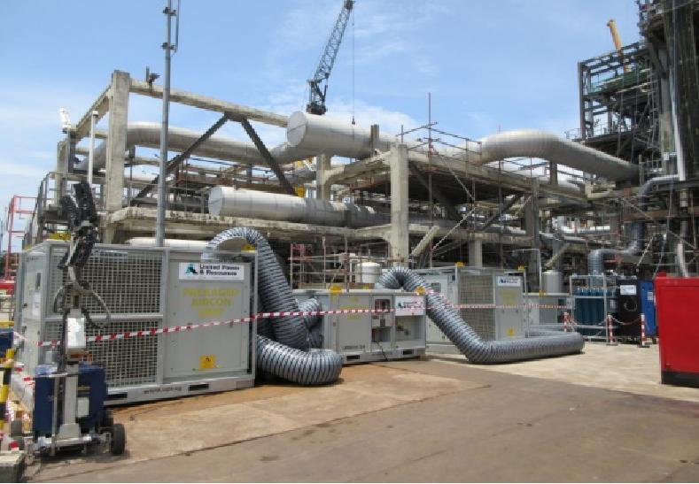 为耐斯特石油公司新加坡工厂提供600KW温度控制系统