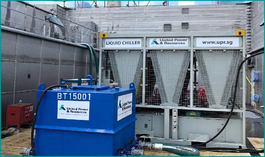 为美国福尔河电力提供冷却系统,空气系统等一整套解决方案