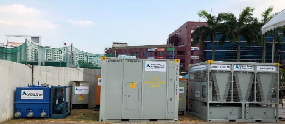为新加坡美食节提供全套电源和冷却解决方案