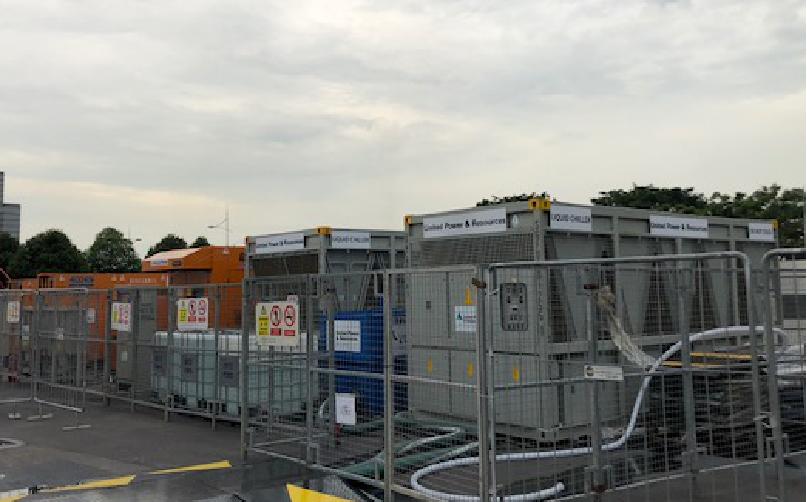 为新加坡莫斯科马戏团巡回提供电力系统和温度控制系统
