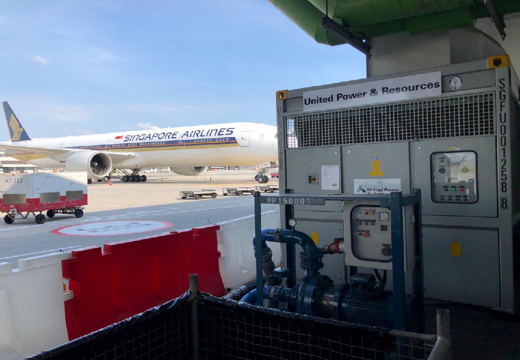为新加坡樟宜市二号航站楼检修提供800kW温度控制机组
