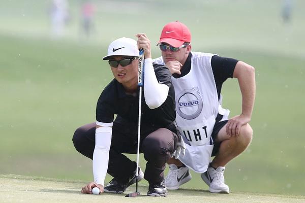 沃爾沃中國公開賽第三輪李昊桐崛起并列第三