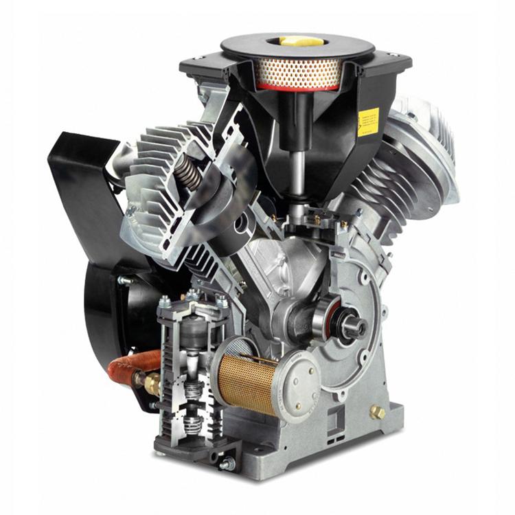 LF鋁制活塞式無油工業壓縮機2