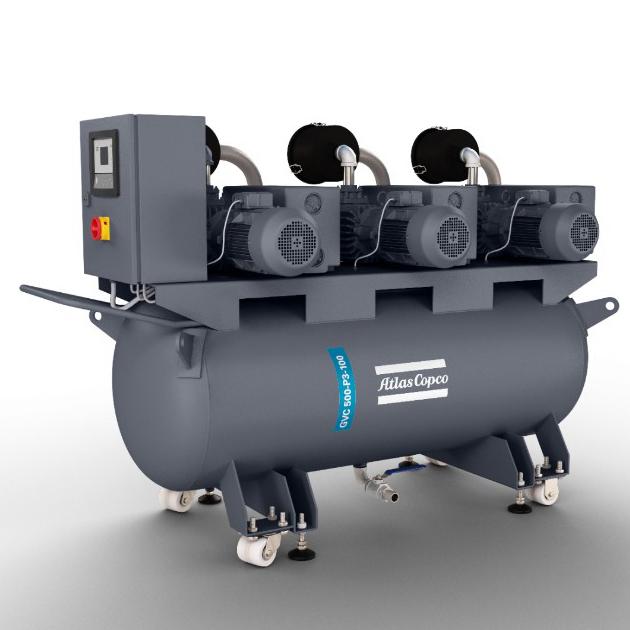 油潤滑葉片泵的小型真空系統