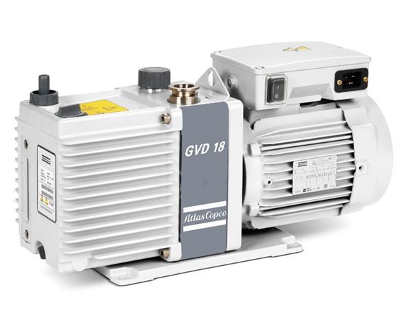 GVD18,2級油密封旋轉葉片真空泵-