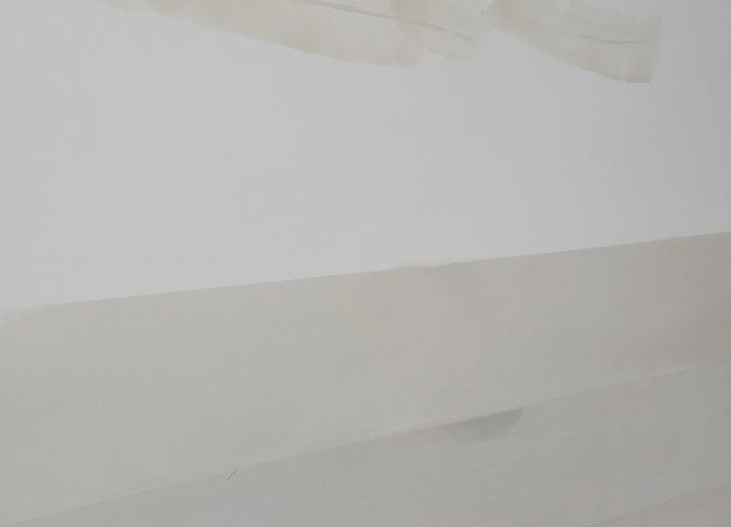專用環保改性墻泥進行批刮,調整墻體的平整度、清潔度和濕潤度