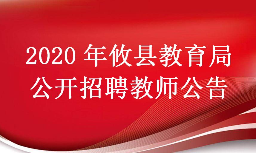 2020年攸县教育局公开招聘教师公告