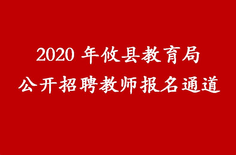2020年攸县教育局公开招聘教师报名通道