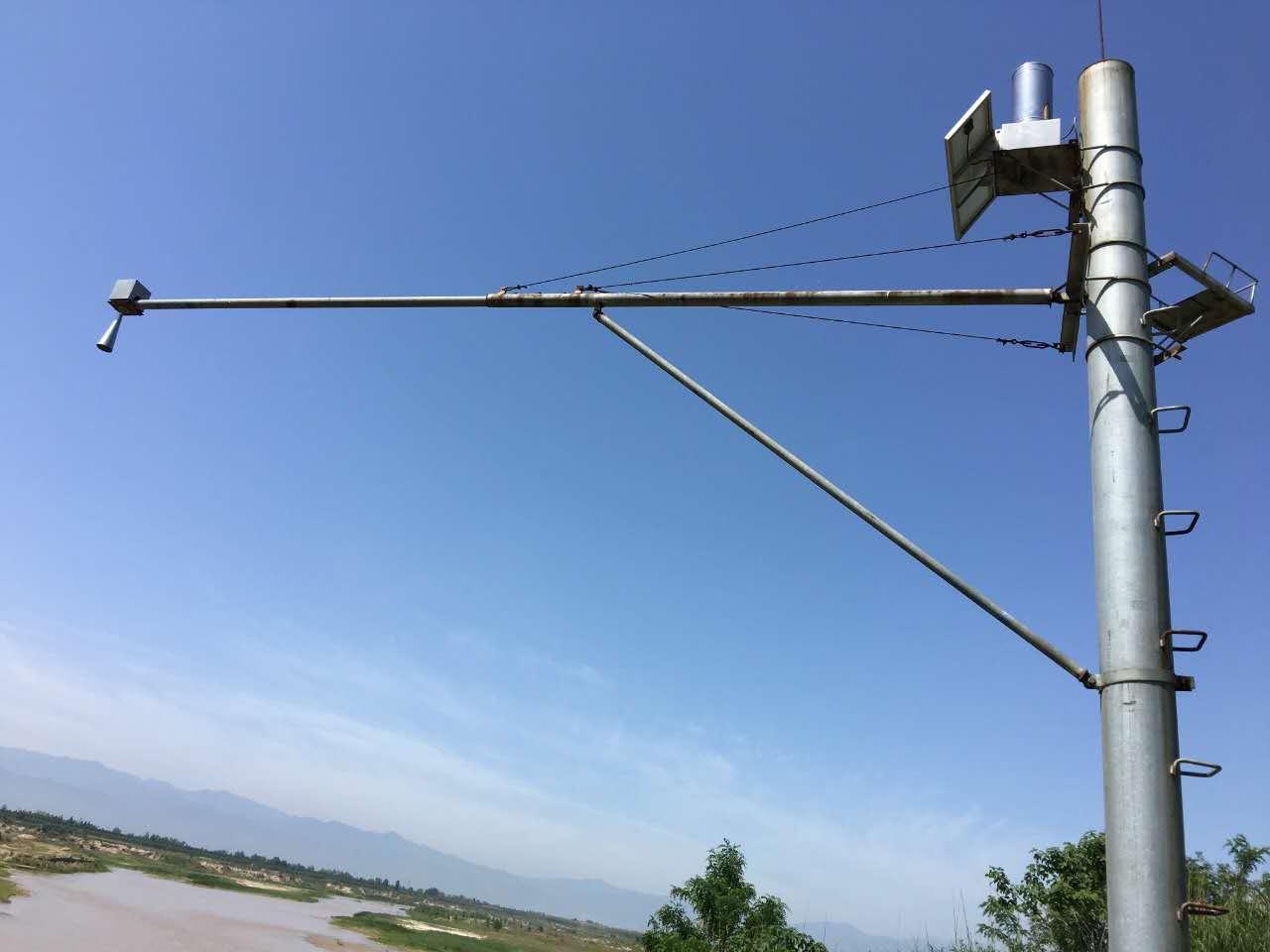 雷達物位計在渭河的應用2