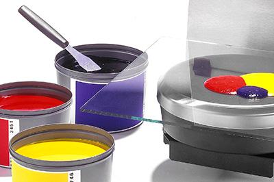专色油墨配色系统