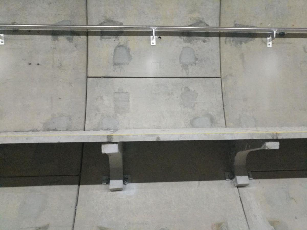 疏散平臺扶手-不銹鋼