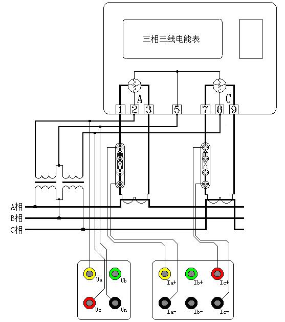 三三高压内部CT接入图
