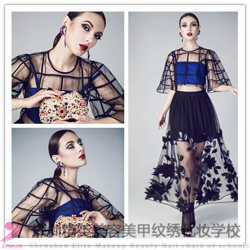 中國時尚彩妝大師蘭冰:2016全球風尚大典研修班作品!