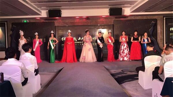 傳奇夫人深圳賽區海選賽各位美麗夫人們群芳爭艷