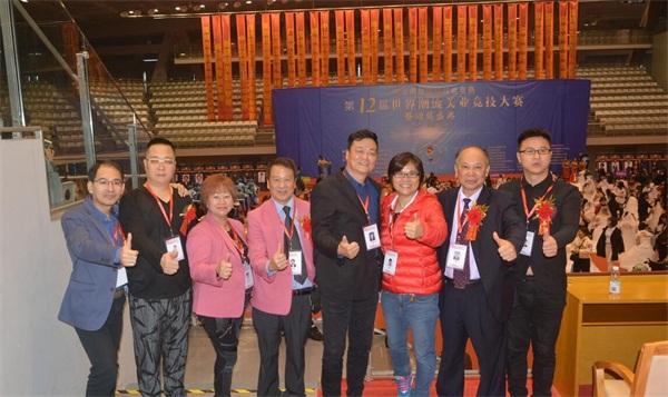 中華兩岸國際技能競賽2017第十二屆中華兩岸世界潮流大賽比賽開始,參賽選手進行比賽中4