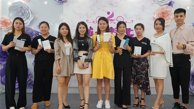 璀璨精英·第六屆化妝美甲設計大賽頒獎合影8