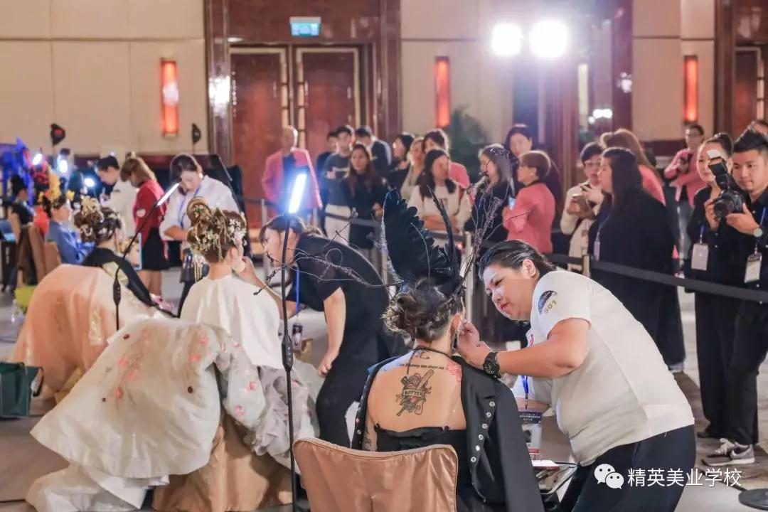 2019中華兩岸世界潮流美業競技比賽過程及作品點評花絮