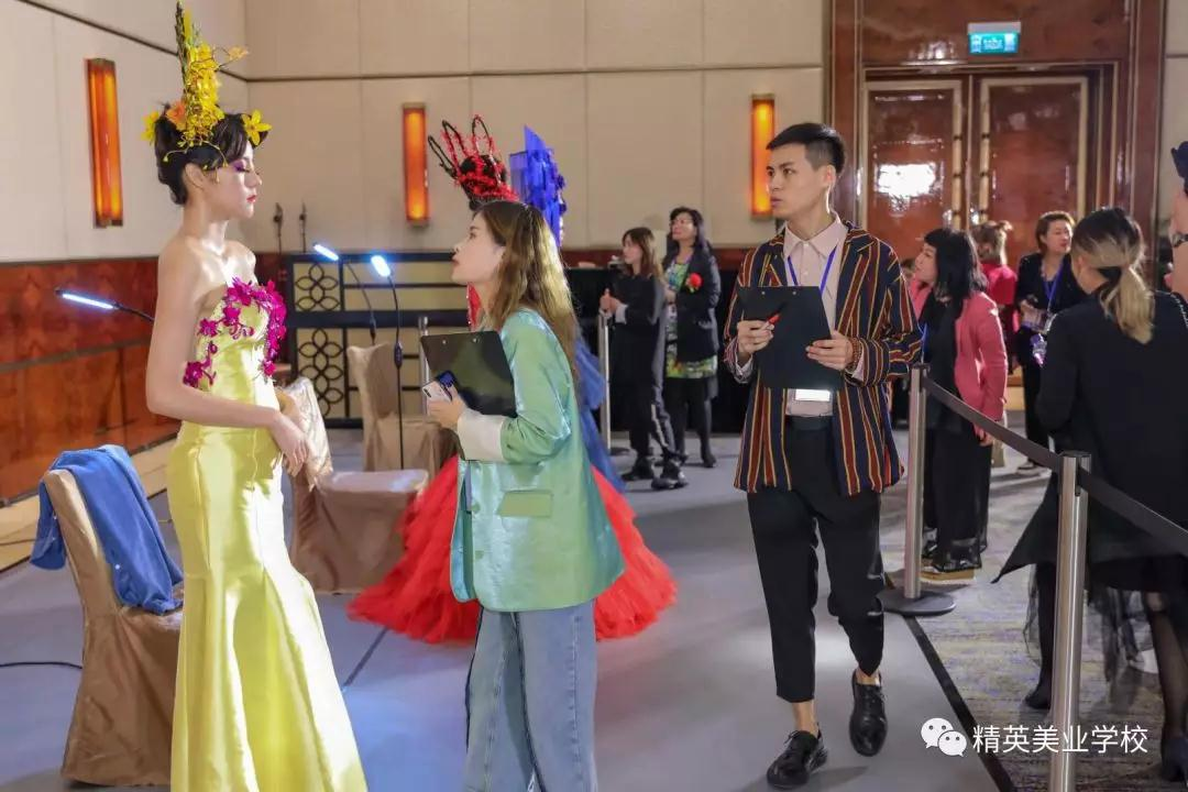 2019中華兩岸世界潮流美業競技比賽過程及作品點評花絮3
