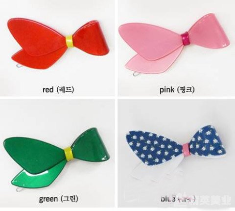 精英教你蝴蝶發飾怎么妝扮最好看