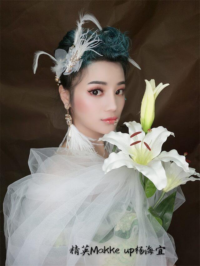 精英化妝培訓學校時尚化妝作品,海宜老師作品