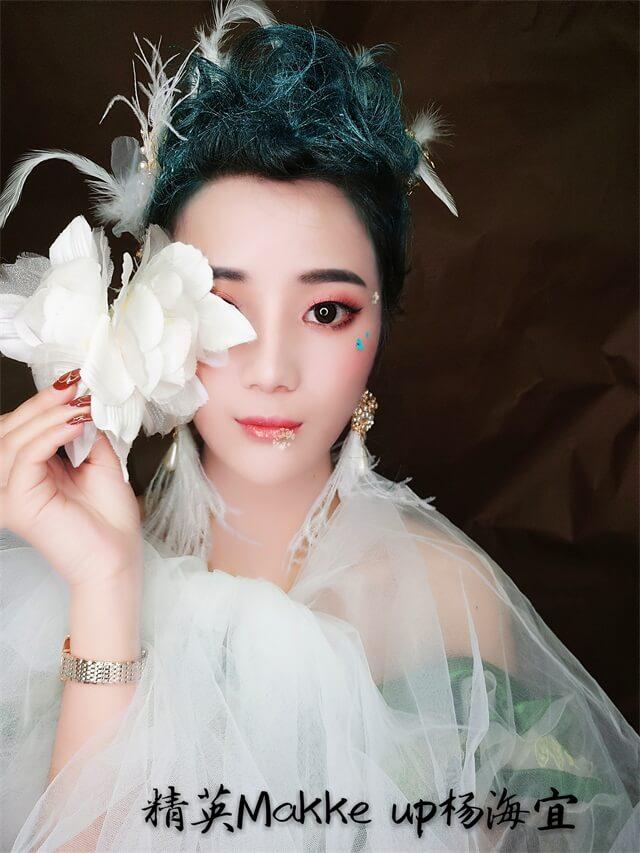 精英學校makeup楊海宜時尚化妝美妝作品