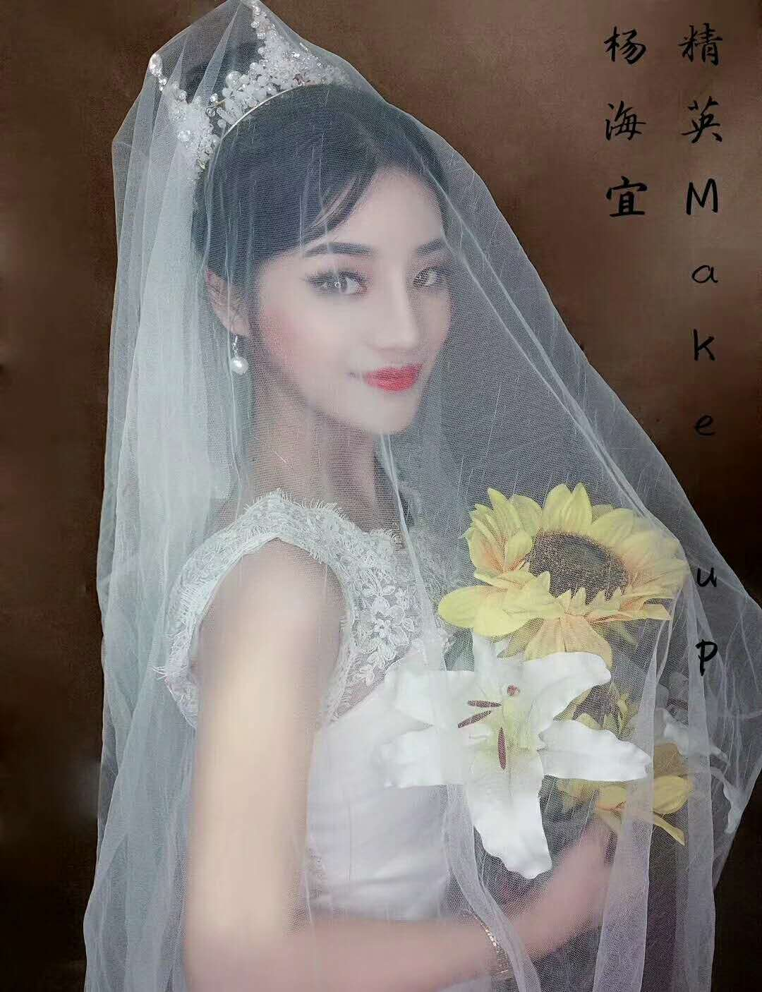 深圳最新新娘化妝造型作品:高貴新娘
