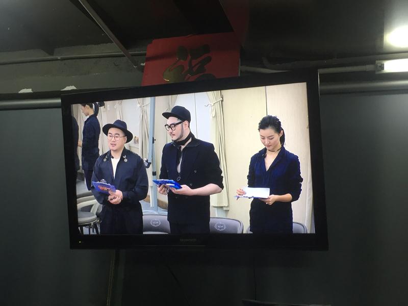 湖南衛視首席化妝師、精英副校長錄播現場