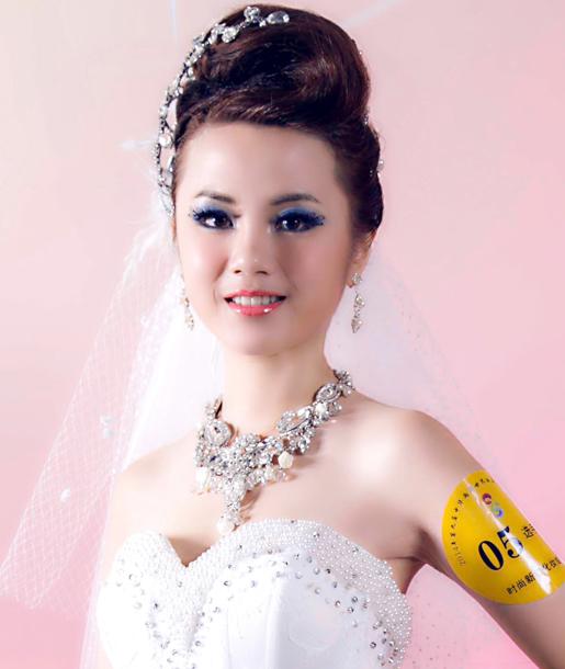 第九屆中華兩岸世界潮流發型化妝技能大賽作品3