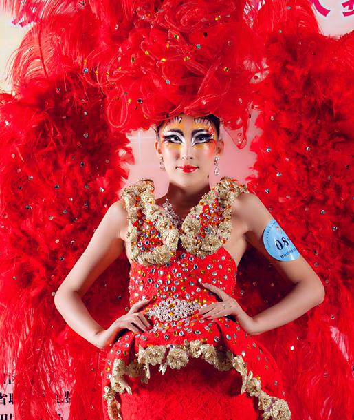 第九屆中華兩岸世界潮流發型化妝技能大賽作品8