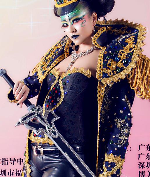 第九屆中華兩岸世界潮流發型化妝技能大賽作品9