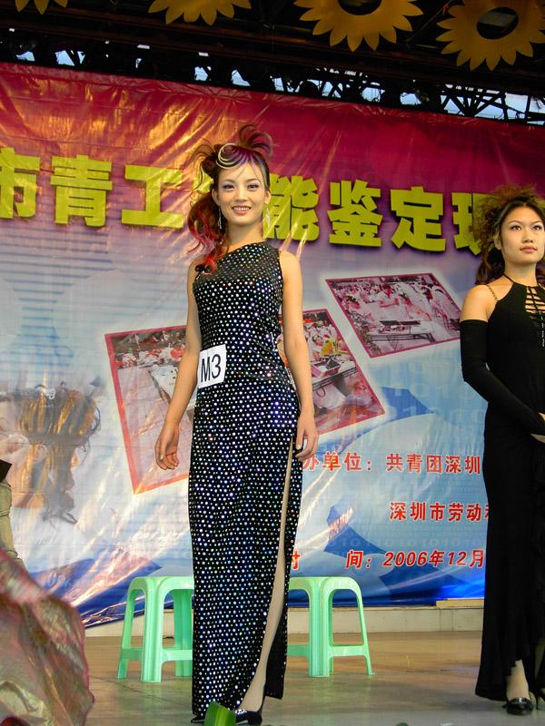 2006年深圳市青工技能鑒定大賽作品展示3
