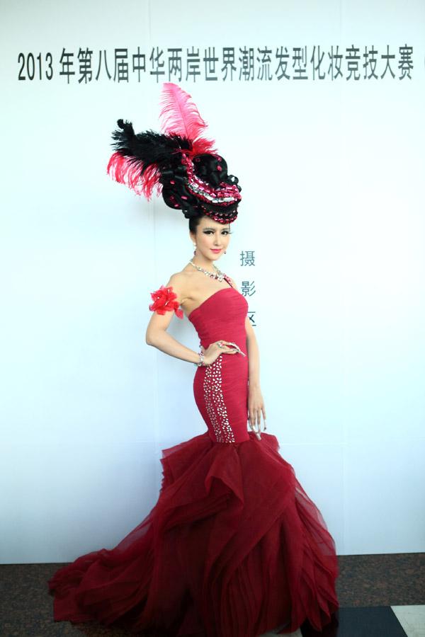 2013年第八屆中華兩岸-深圳區世界潮流發型化妝競技大賽作品展示1