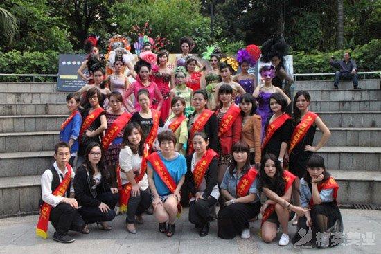 精英化妝學校化妝部舉行畢業典禮歡送畢業學子4