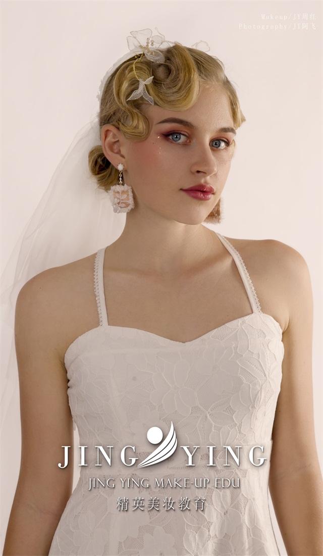 西式新娘妝